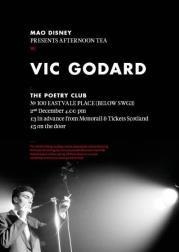 vic godard poetry clb glasgow